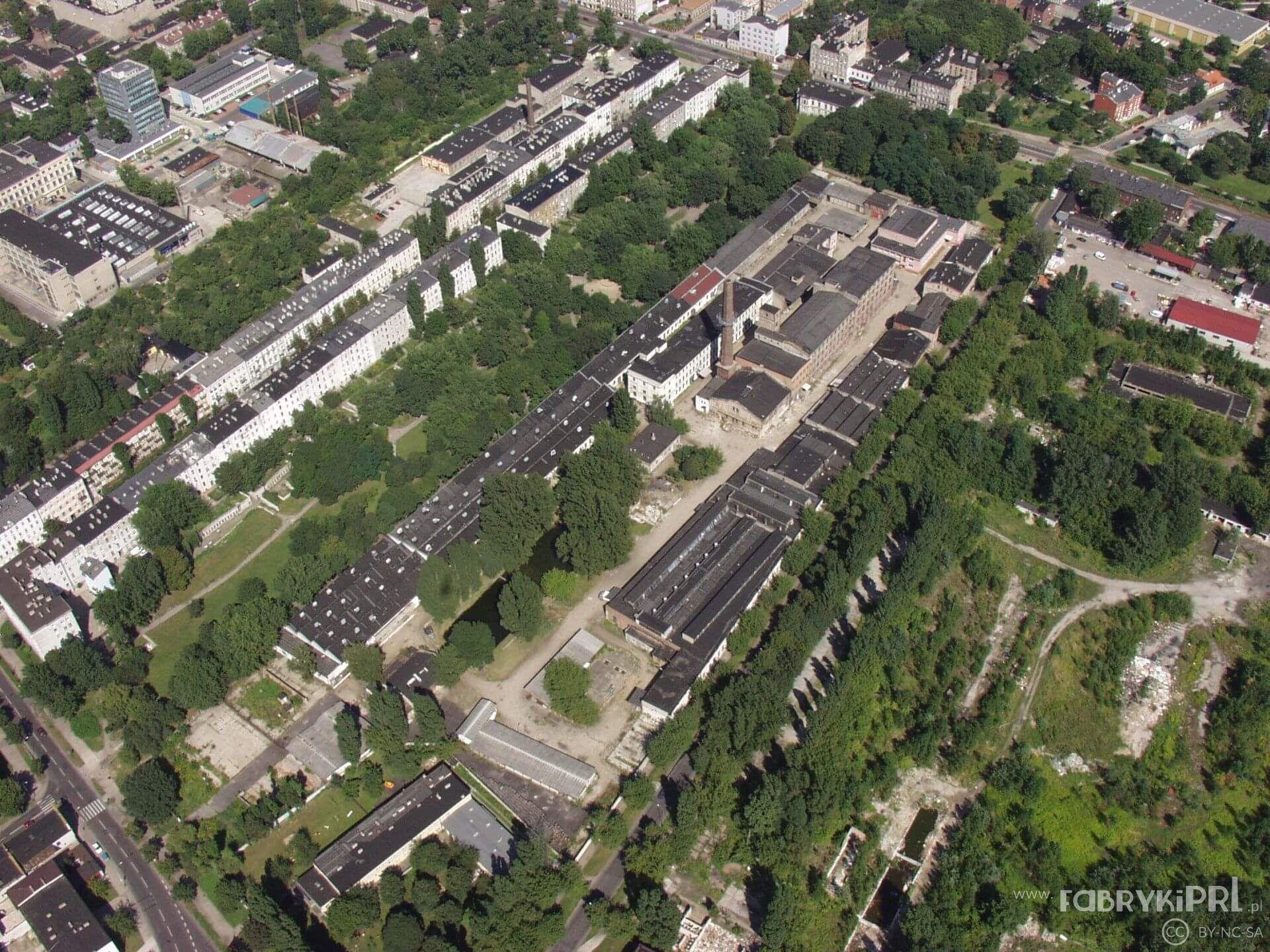 Dawna fabryka Barcińskiego, później Zakłady Przemysłu Wełnianego im. 9 maja