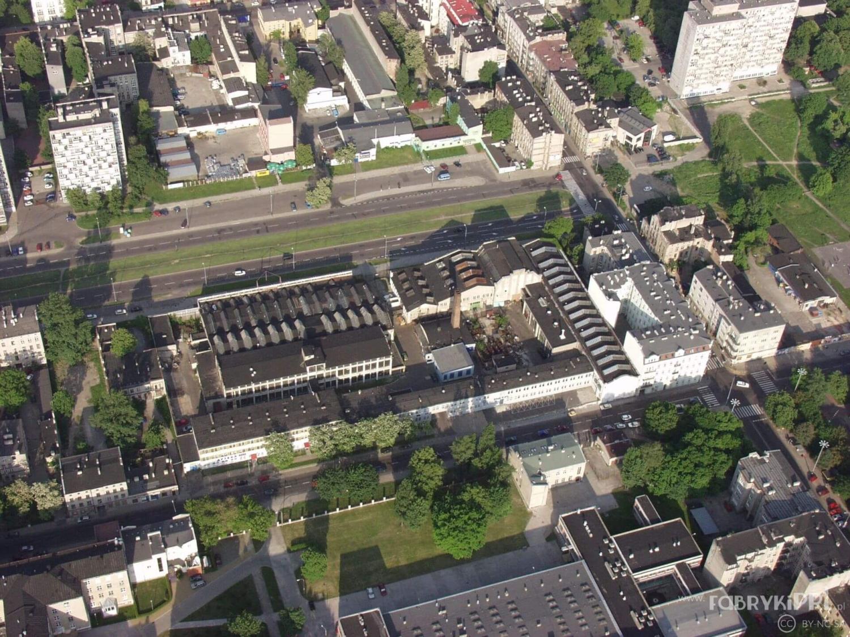 Budynki zakładu JOTES przy Wróblewskiego