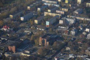 Zakład Ortal, zdjęcie lotnicze